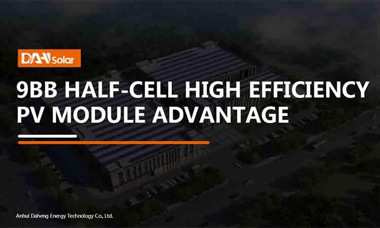 9BB half-cell solar module