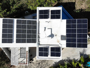 Mexico 15.4 KW  Rooftop Home System Solar  Project - DAH Mono Solar Panel 445w