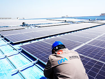 1.28MW Factory Rooftop System In China