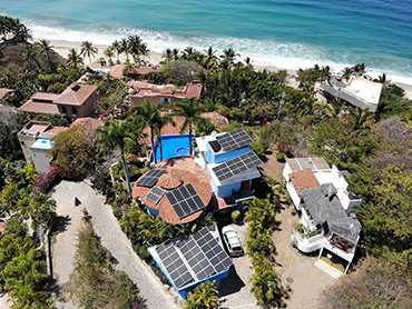 Mexico 21.4KW 51 Pieces 400W momo PV Module On-Grid Solar Home System